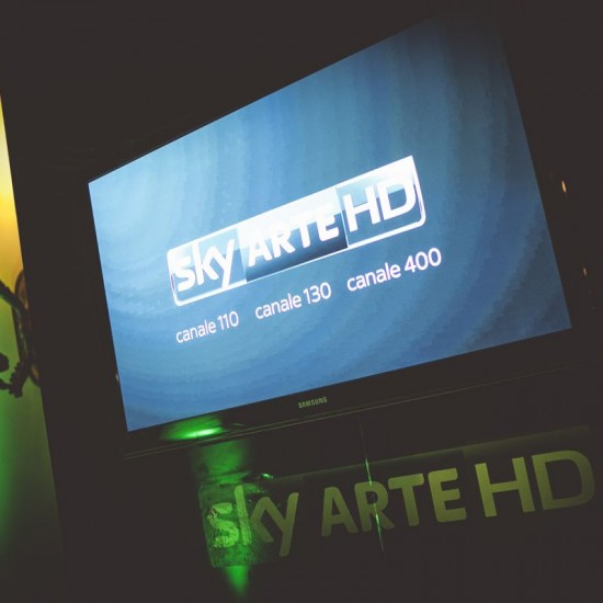 Compleanno Sky Arte