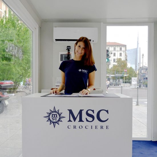 Msc Crociere - Container Espositivi
