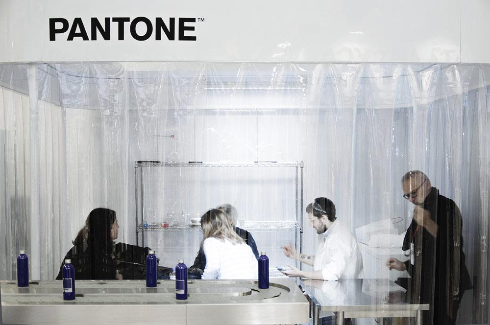 Brand Licensing Europe 2017 - Stand Pantone